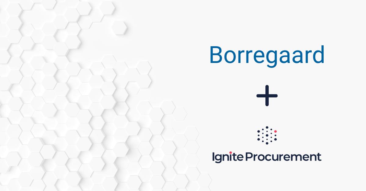Borregaard blir ny kunde av Ignite Procurement