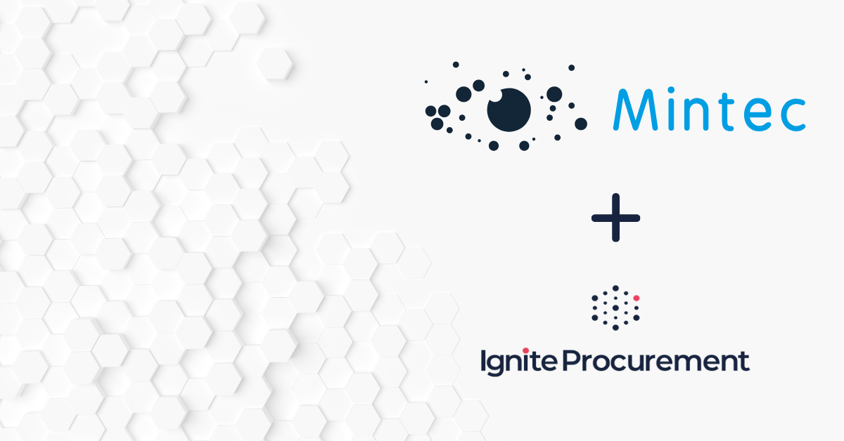 Ignite Procurement & Mintec - strategic partnership