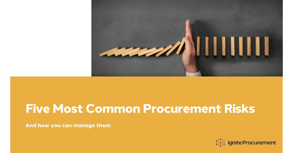 five-most-common-procurement-risks