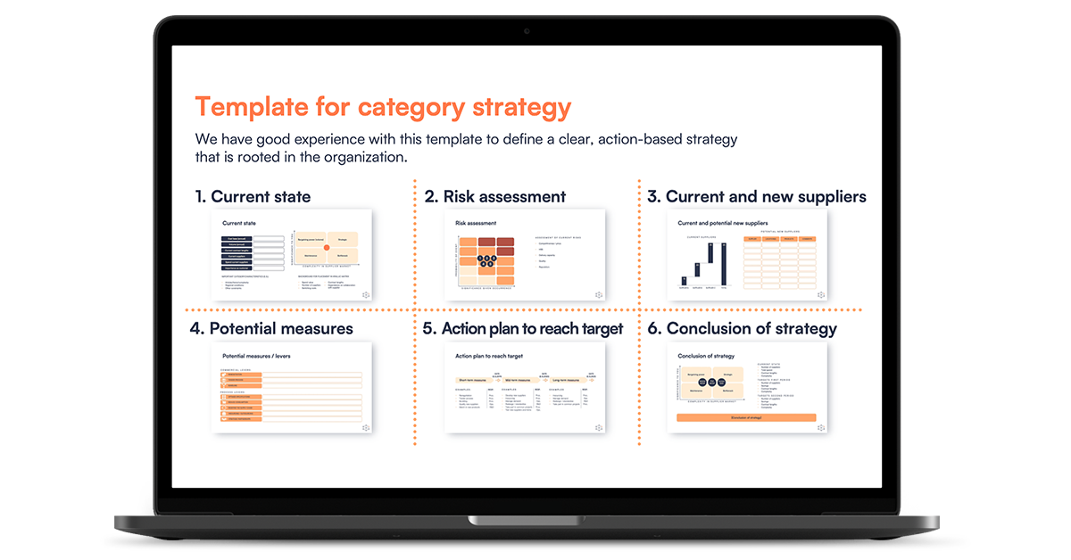 Template - Category strategy