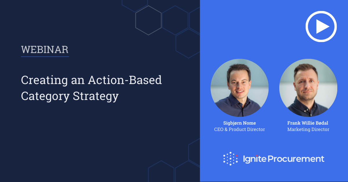 Webinar - Creating an Action-Based Category Strategy